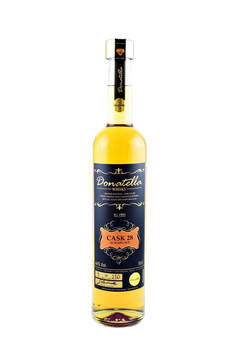 Donatella Whisky - Cask 25 Years Old Scotch