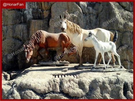 ماکت اسب و ماکت حیوانات اهلی و وحشی