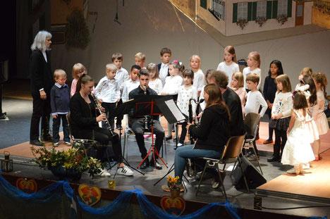 """Préverenges, Concert en commun avec """"La Barque"""", 2017"""