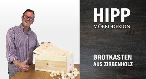 Brotkasten / Brotdose aus Zirbenholz kaufen