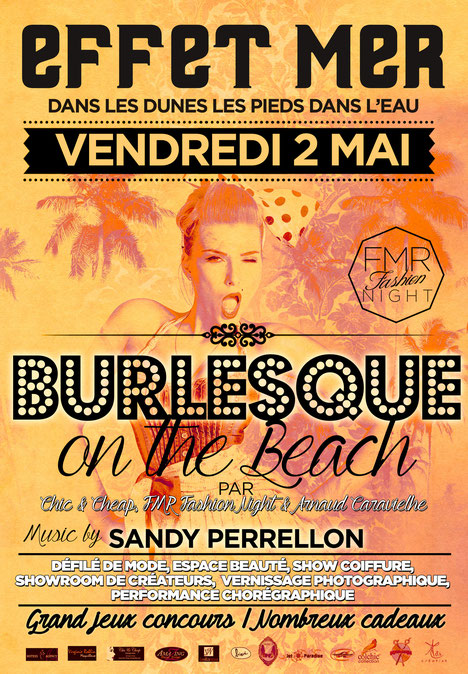Burlesque On The Beach @ Effet-Mer Plage Privé