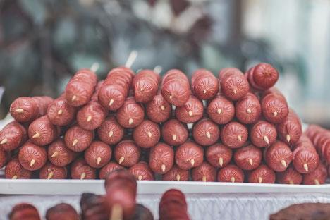 Minimalist Biohacker Processed Food Sausages