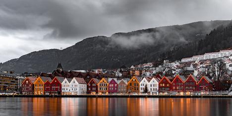 Scandinavia cityscape