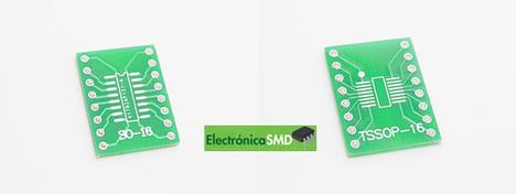 ElectronicaSMD Soic Guatemala Electronica Soic18pinesaDip, SMD, circuito integrado,