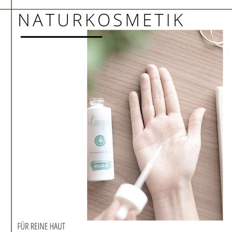 Naturkosmetik für reinere Haut