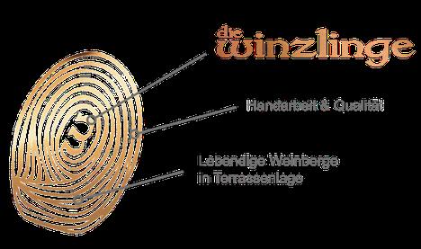 Weingut Aeschbach | Die Winzlinge | Fingerabdruck steht für Handarbeit & Qualität, die lebendigen Weinberge in Terrassenlage - Daumen drauf