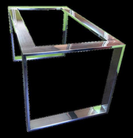 Estructura para mesa acero inoxidable