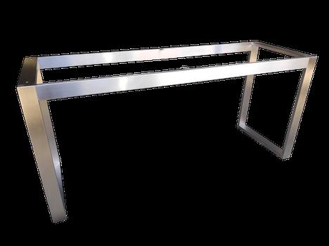 Estructura soldada o bastidor para mesa en acero inoxidable