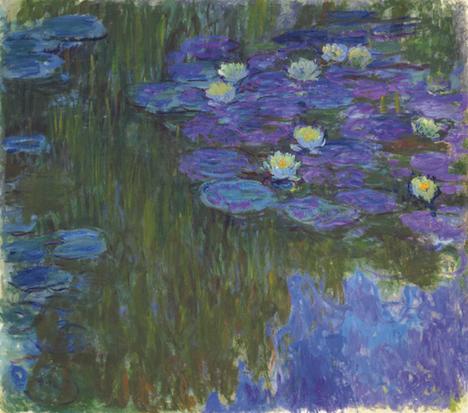 Кувшинки в цвету - самые известные картины Клода Моне
