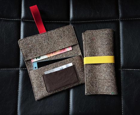 b7ea4acd770479 Brieftasche/ Smartphonetasche/ Tabaktasche/ Geldbörse. Voila--die  Universelle