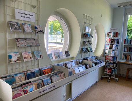 Bibliothek Neunkirch Hörbuch-Ecke