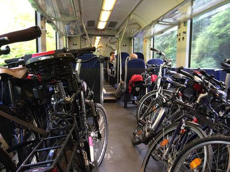 Mehr Stellplätze bei der Deutschen Bahn AG im Fernverkehr geplant