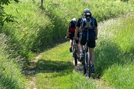 Mountainbiken in de Limousin