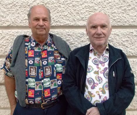 Die Gesamt- und Tandemsieger Rudi Perzul (4662) und Hannes Kulzer (3899)
