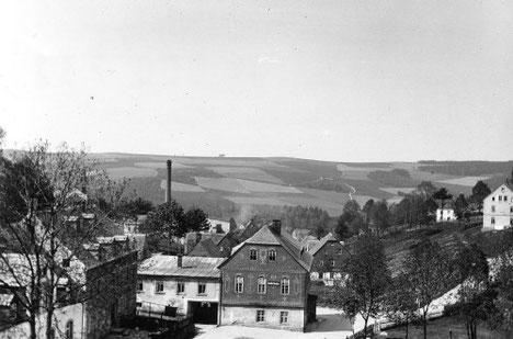 Ansicht vor dem Brand 1921 Quelle: SLUB Deutsche Fotothek