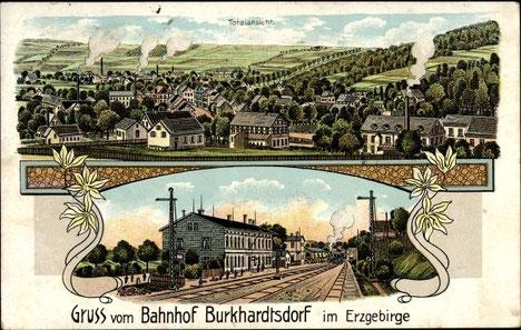 Ansichtskarte von 1916