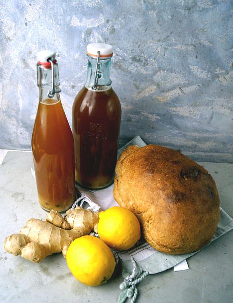Kwas - das russische Erfrischungsgetränk aus fermentiertem Brot