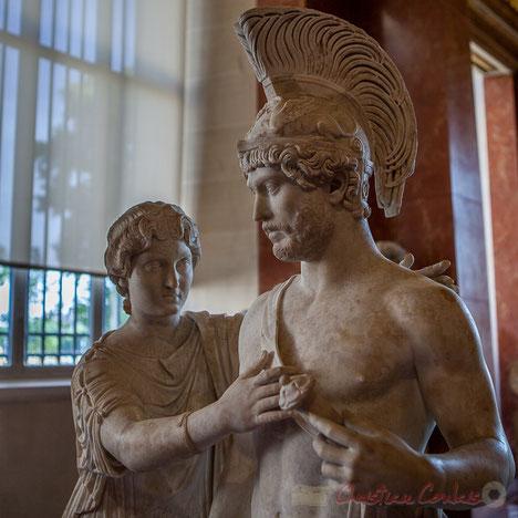 Groupe impérial en Mars et Vénus, Musée du Louvre
