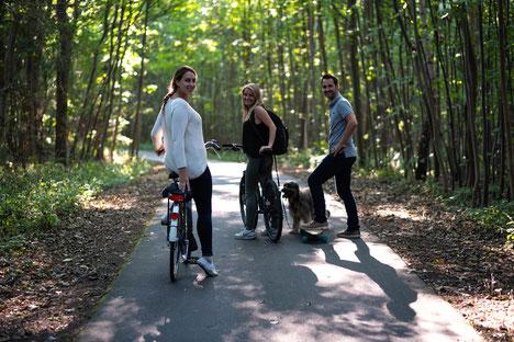 Fahrradweg Ostsee