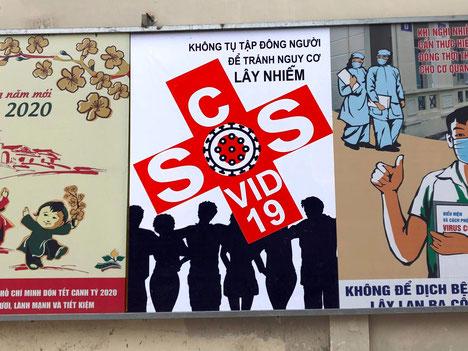 Einrreisesperre-covid19-corona-Coronavirus-sos-Propagandaplakat-vietnam-poster-propaganda