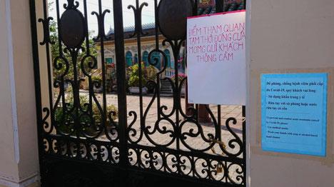 Vietnam-Covid19-Corona-Sehenswürdigkeiten-Ausflugsziele-Tourismus-geschlossen