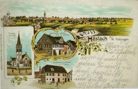 Grußkarte Anfang des 20. Jahrhunderts
