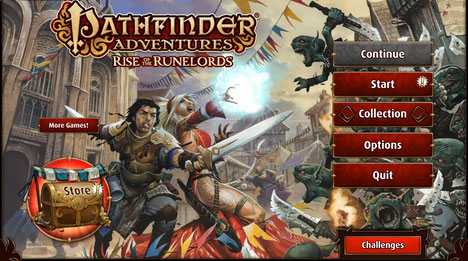 Review Pathfinder Adventures