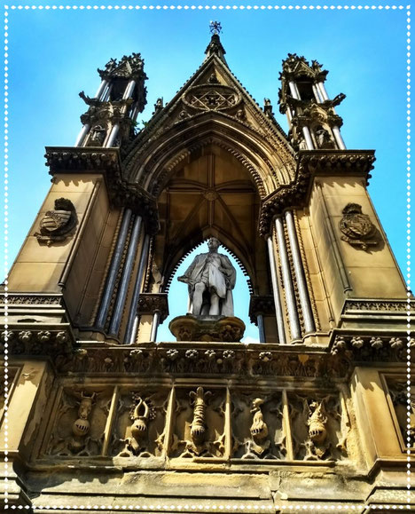 Prince Alberts Commemorative statue