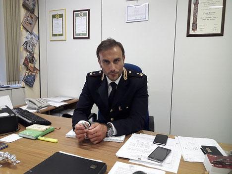 Flavio Genovesi (dirigente delle volanti)