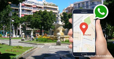 Asi va WhastApp a compartir tu ubicacion en tiempo real