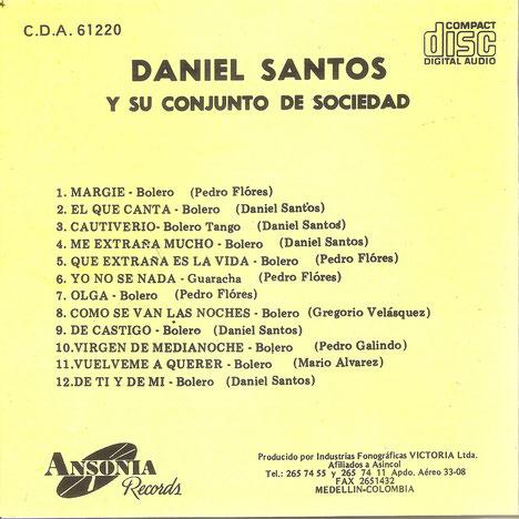 Contenido LP Ansonia No. ALP-1220.