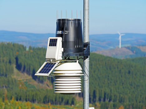 There must therefor be a power supply. A solar system is the perfect solution for independent power supply.