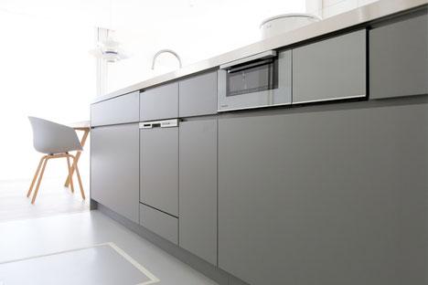 HACOオリジナルシンプルキッチンの画像