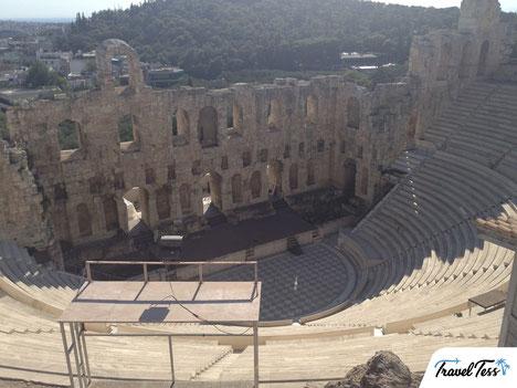 Dionysustheater Parthenon Athene