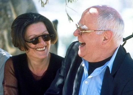 Literaturnobelpreisträgerin Hertha Müller und Joachim Schädlich