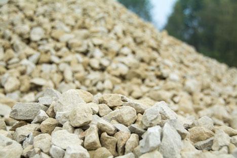 Schotter aus Bamberger Sandstein