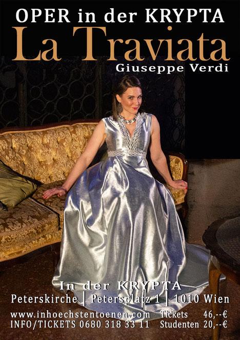 La Traviata - Giuseppe Verdi  in der KRYPTA