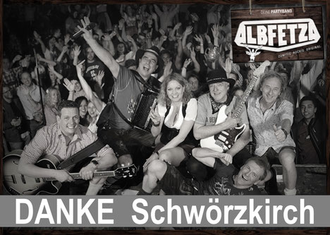 ALBFETZA Europas Oktoberfest Party Band