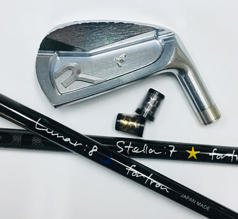 CC FORGED IRON & WEDGE/LUNAR & STELLA for Iron
