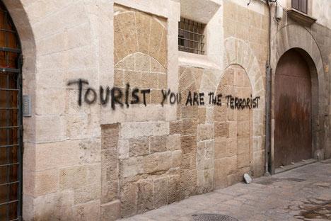 Il rigetto in Spagna del turismo di massa