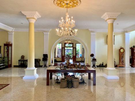 Koloniale accommodatie Cilu Bintang Estate op Banda Neira op de Banda eilanden op de Molukken