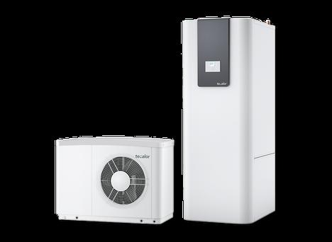 Das Technikpaket Luftwasser-Wärmepumpe ist optional bei Berg