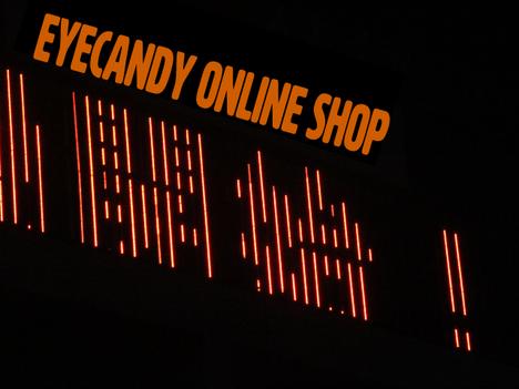 eyeCandy オンラインショップ オープン チョークバッグ