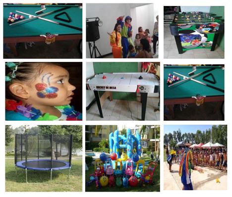 Algunas atracciones del evento