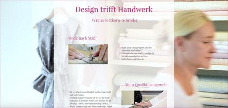 Webseite Design trifft Handwerk