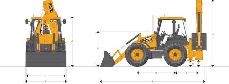 JCB 4CX технические характеристики
