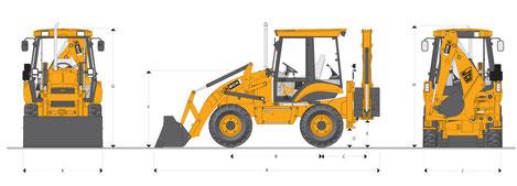 JCB 2CX технические характеристики