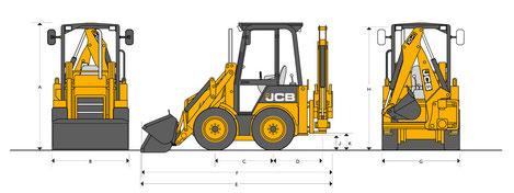 JCB 1CX технические характеристики