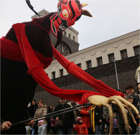 Karneval in Prag