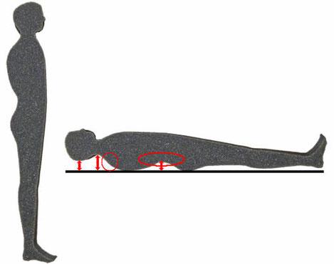 姿勢判定 6体型 背出タイプ